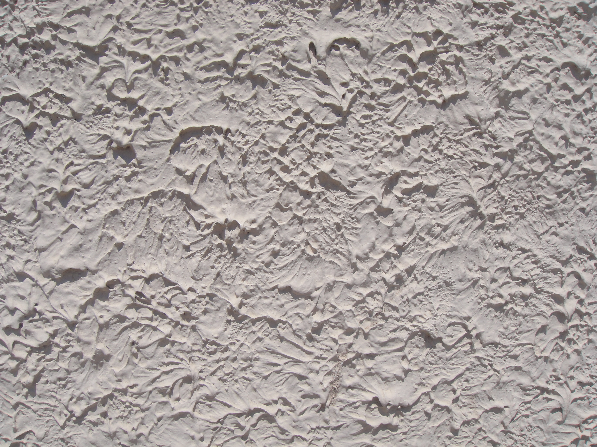 Textured plaster walls