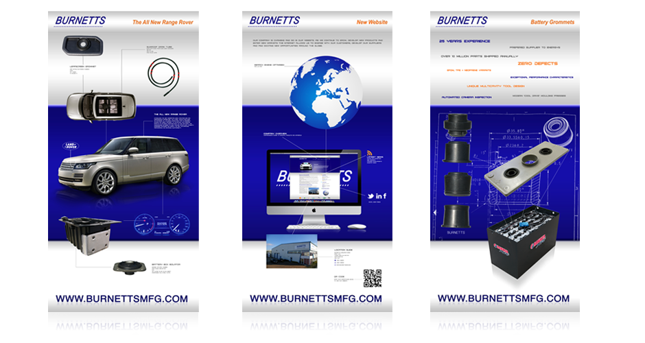 burnetts exhibition design posters