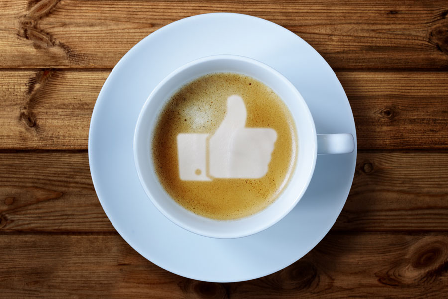 Facebook-Like-in-Coffee
