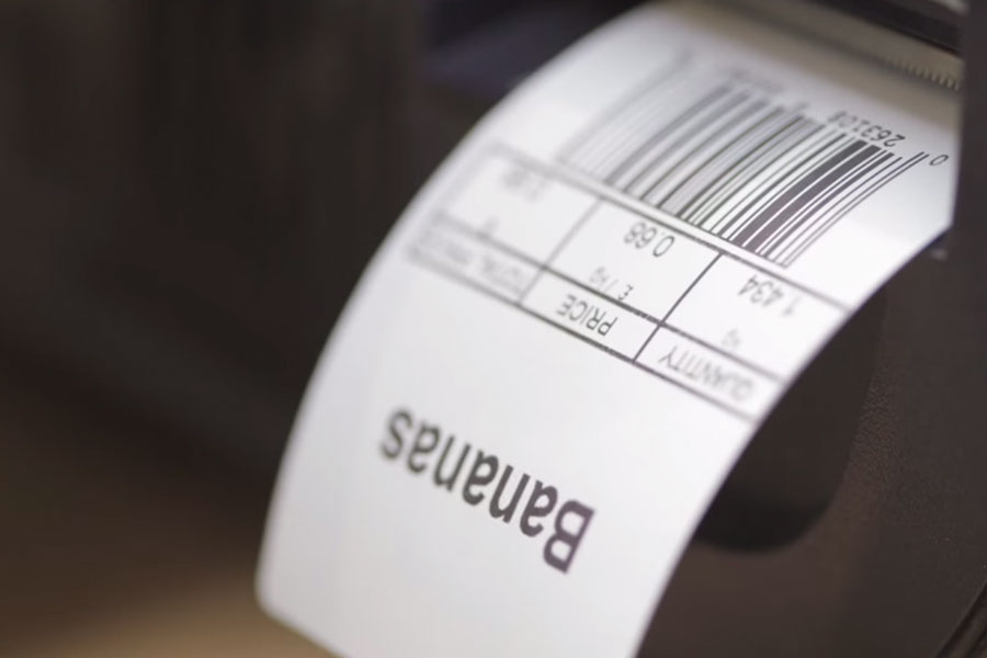 Scanning Barcode Label