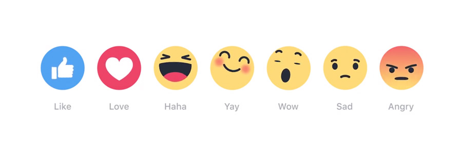 Reactions-Facebook